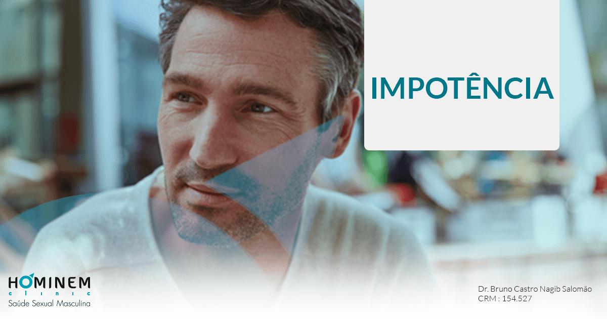 Você tem estes sintomas de impotência?
